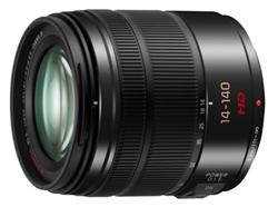 "<ul> <li><span class=""redbold"">Lumix G Vario 14-140mm / F3.5-5.6 Lens</span></li> <li>Micro Four Thirds Mount</li> <li><span class=""bluebold"">Power Optical Image Stabilization</span></li> <li>Maximum Diameter: 67mm</li> <li><span class=""blackbold"">14mm-140mm Focal Length / F3.5-5.6 Aperture Range</span></li> <li>Overall Length: Approx. 75mm</li> <li>0.98' Minimum Focus Distance</li> </ul>"
