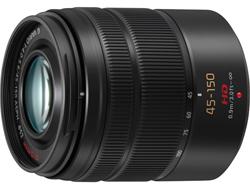 "<ul> <li><span class=""redbold"">LUMIX G VARIO 45-150mm Lens</span></li> <li>Micro Four Thirds Mount</li> <li><span class=""bluebold"">MEGA O.I.S. (Optical Image Stabilizer</span></li> <li>Maximum Diameter: 62mm</li> <li><span class=""blackbold"">45mm-150mm Focal Length</span></li> <li>Overall Length: Approx. 73mm</li> <li>3.0' Minimum Focus Distance</li> </ul>"