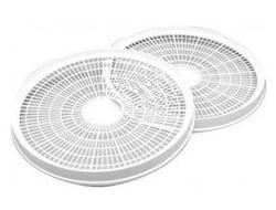 """Product # TR-2 <br /> <ul> <li><span class=""""blackbold"""">Dehydrator Trays</span></li> <li><span class=""""bluebold"""">Add-A-Tray for FD-1010, FD-1018P, FD-1040</span></li> <li>Automatically Adjusts Drying Pressure</li> <li>No Tray Rotation Necessary</li> </ul>"""