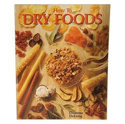 "Product # HP-9 <br /> <ul> <li><span class=""blackbold"">Cookbook</span></li> <li>160 Page Soft Cover Book</li> <li>Recipes w/ Hints & Tips</li> <li>Covers History, Methods, & Equipment For Drying</li> <li>By Deanna De Long</li> </ul>"