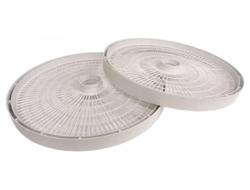 """<ul> <li><span class=""""blackbold"""">Dehydrator Trays</span></li> <li><span class=""""bluebold"""">Works With Dehydrators:                                           <br/>FD-61                                           <br/>FD-61WHC                                           <br/>FD-75PR</span></li> <li>Automatically Adjusts Drying Pressure</li> <li>No Tray Rotation Necessary</li> </ul>"""