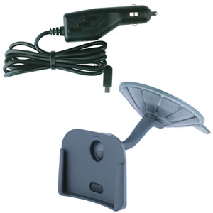 windshield mount with car charger for tomtom
