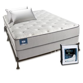 simmons beautysleep chickering luxury firm twin size mattress bundle