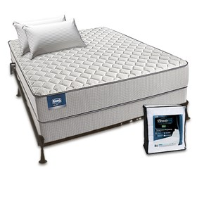 simmons beautysleep cadosia firm twin size mattress bundle
