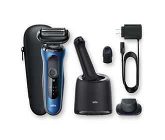 braun 6072cc wet and dry shaver with smartcare center