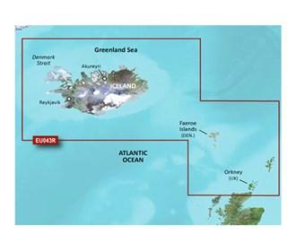 garmin bluechart g3 vision veu043r iceland to orkney
