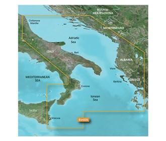 garmin bluechart g3 vision veu453s adriatic sea south coast