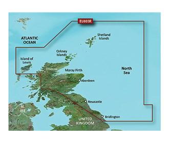 garmin bluechart g3 vision veu003r great britain northeast coast