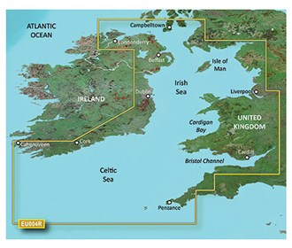 garmin bluechart g3 vision veu004r irish sea