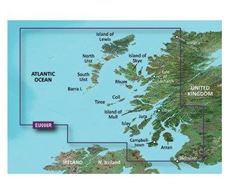 garmin bluechart g3 vision veu006r scotland west coast