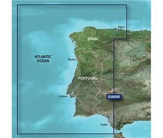 garmin bluechart g3 vision veu009r portugal northwest spain