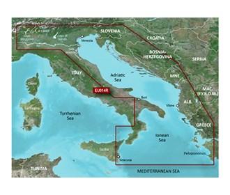 garmin bluechart g3 vision veu014r italy adriatic sea
