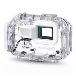 "<ul> <li><span class=""blackbold"">Marine Case</span></li> <li>Allows Underwater Shooting To A Depth Of 147 Feet (45 Meters)</li> <li><span class=""bluebold"">Clear Polycarbonate Body</span></li> <li>Access to Most Camera Functions</li> <li>Includes Flash Diffuser</li> </ul>"