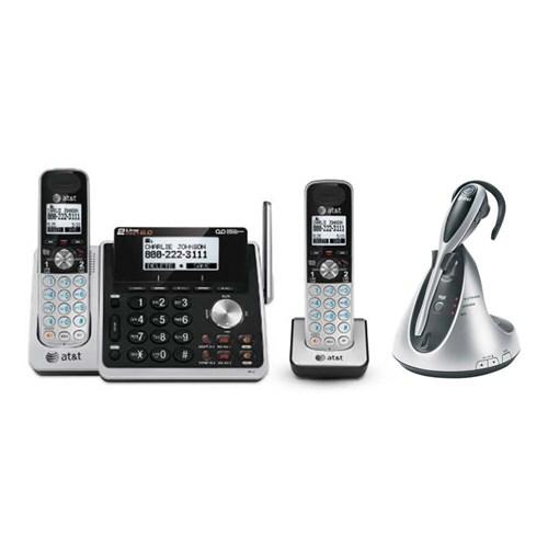 att tl88102 bundle with headset plus tl88002 tl7610
