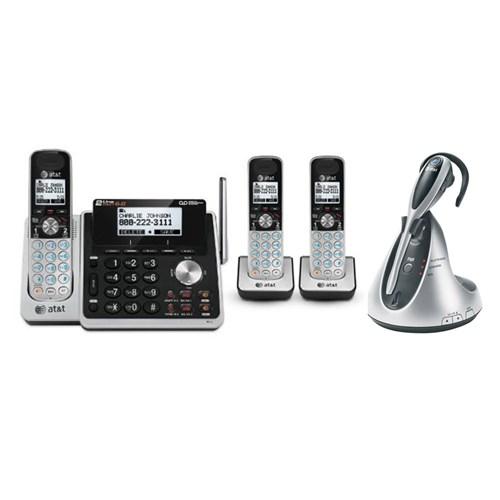 att tl88102 bundle with headset plus 2 tl88002 tl7610