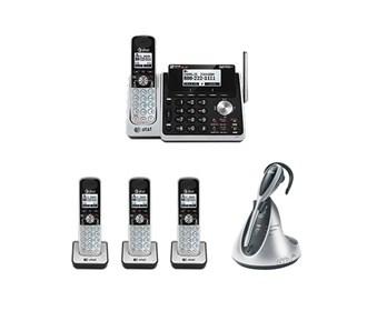 att tl88102 bundle with headset plus 3 tl88002 tl7610