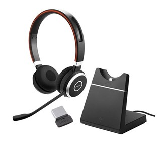 jabra evolve 65 ms stereo with stand