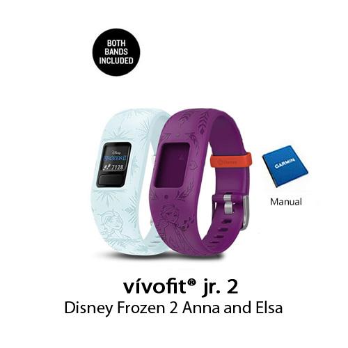 garmin vivofit jr.2 disney frozen 2 anna and elsa
