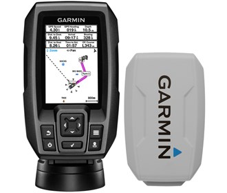 garmin striker 4 with sun cover combo