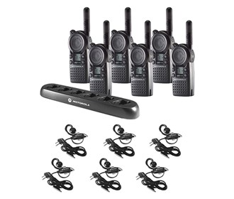 cls1110 communication kit w multi unit charger and headsets