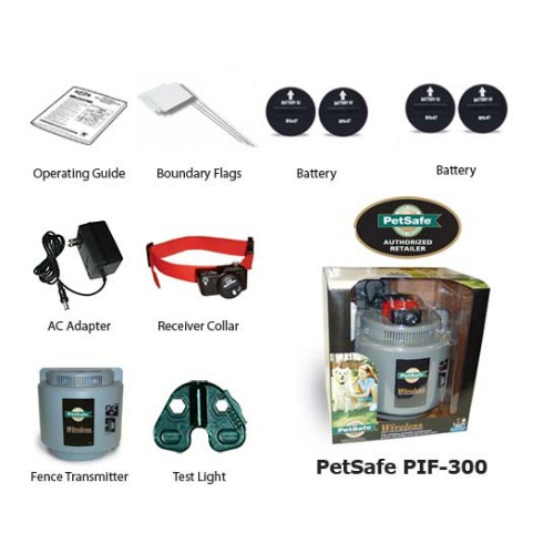 petsafe pif 300 with extra batteries
