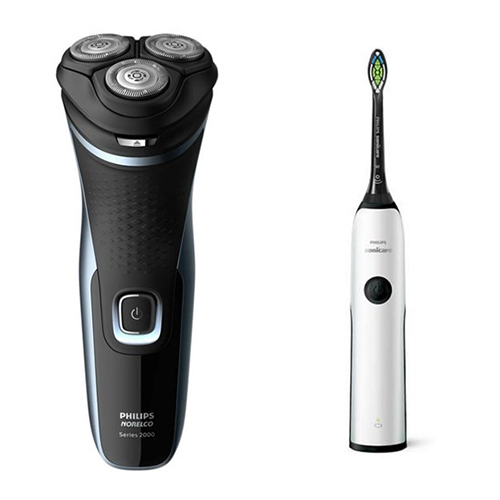sonicare essence plus electric toothbrush with norelco s1311 82
