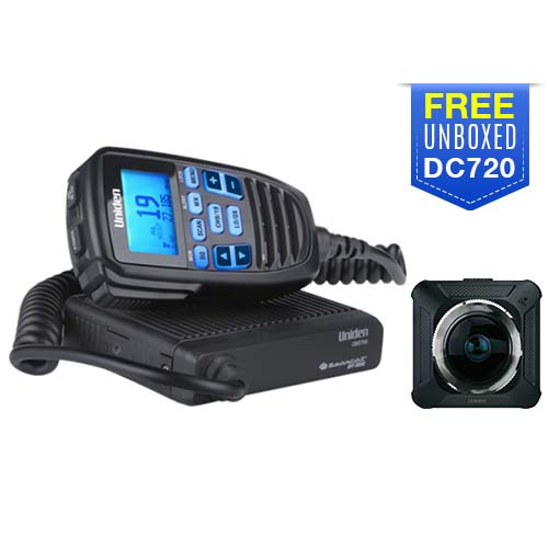 uniden cmx760 with free dc720 camera