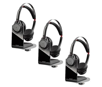 plantronics voyager focus uc b825 3 pack