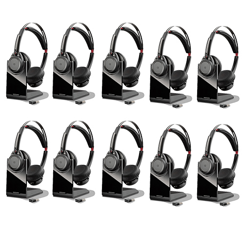 plantronics voyager focus uc b825 10 pack