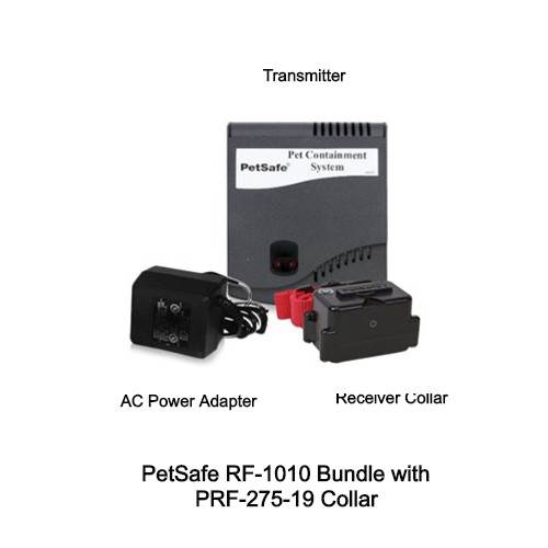 petsafe rf 1010 bundle with prf 275 19 collar