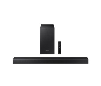 samsung hw t450/za soundbar with dolby audio