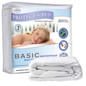 protect a bed basic mattress protector twin xl