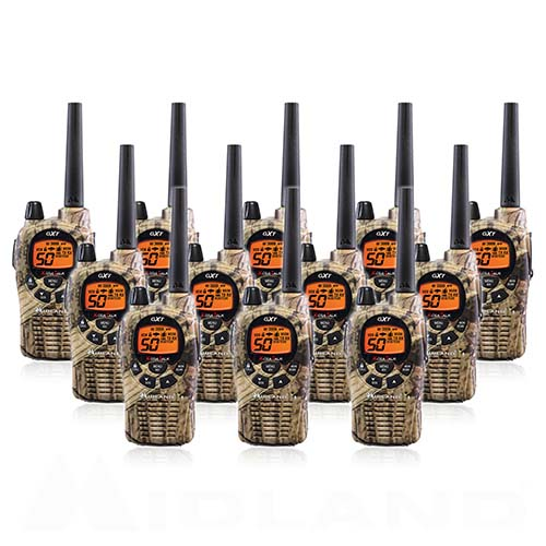 Midland Xtra Talk Gxt1050vp4 Camo Two Way Radio 12 Pack