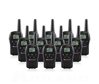 midland xtra talk lxt500vp3 12 radios