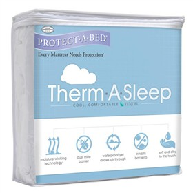 protect a bed therma mattress protector