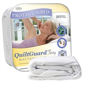 protect a bed quilt terry mattress protector