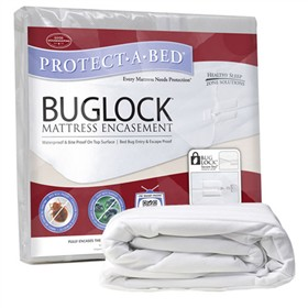 protect a bed buglock mattress encasement