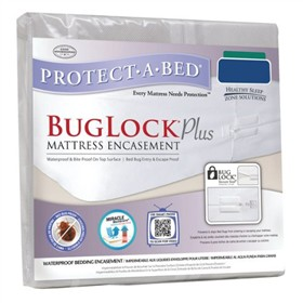 protect a bed buglock plus mattress encasement