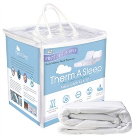 protect a bed therma adjustable bed kit twin