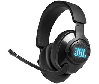 jbl quantum 400 wired over ear gaming headphones with usb and game chat balance dial black