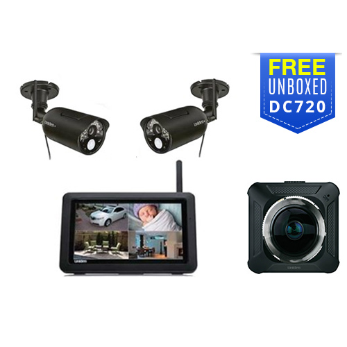 uniden udr744hd with free dc720 dash camera