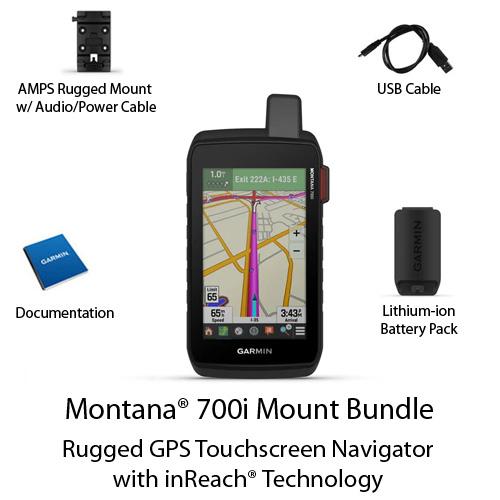 garmin montana 700i with amps mount bundle