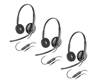 plantronics blackwire c225 3 pack