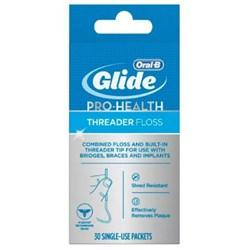 <ul> <li>Dental Floss</li> <li>Silky Smooth Texture</li> <li>Wax Material</li> <li>Strong & Shred-Resistant</li> <li>Removes Tough Plaque</li> <li>30 Single-Use Packets</li> </ul>