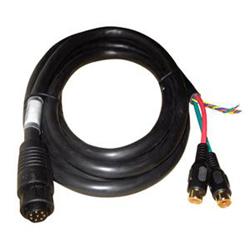 "Product # 000-00129-001 <br /> <ul> <li><span class=""blackbold"">NSE/NSS Video/Data Cable</span></li> <li>Cable Length: 2m (6.5 ft.)</li> <li>8 Pin &amp; 2 RCA Female Connectors</li> <li>Easy to Install</li> </ul>"