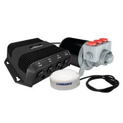 "Product # 000-11748-001 <ul> <li>Outboard Pilot Hydraulic Pack</li> <li>Steer to Heading, Course or Route</li> <li><span class=""bluebold"">SmartSteer&trade; Interface</span></li> <li>One-Touch Route Creation From Trails</li> <li>Virtual Rudder Feedback</li> <li>Easy to Install</li> </ul>"