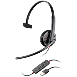 "Product# 200264-02/204440-102 <br /> <ul> <li><span class=""bluebold"">Monaural Over-the-Head Headset</span></li> <li>Leatherette Ear Cushions</li> <li>Inline Controls to Answer/End Calls, Control Volume  &amp; Mute</li> <li><span class=""blackbold"">Built For UC Applications &amp; Soft Phones From Avaya, Cisco, IBM, Skype &amp; More</span></li> <li>Dynamic EQ </li> <li>Noise-Canceling Microphone</li> <li>Foldable For Travel</li> </ul>"