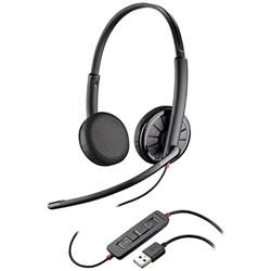 "Product# 200263-01 <ul> <li><span class=""bluebold"">Stereo Over-The-Head Headset</span></li> <li>Leatherette Ear Cushions</li> <li>Metal Headband w/ Customizable &amp; Comfortable Fit</li>  <li>Inline Controls to Answer/End Calls, Control Volume  &amp; Mute</li> <li><span class=""blackbold"">Optimized for Microsoft Lync 2010 &amp; Microsoft Office Communicator 2007</span></li> <li>Dynamic EQ </li> <li>Noise-Canceling Microphone</li> <li>Enhanced Digital Signal Processing</li> <li>SoundGuard Technology</li> </ul>"