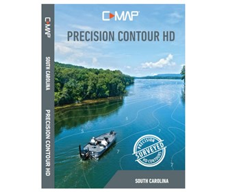 lowrance c map precision contour hd chart   south carolina