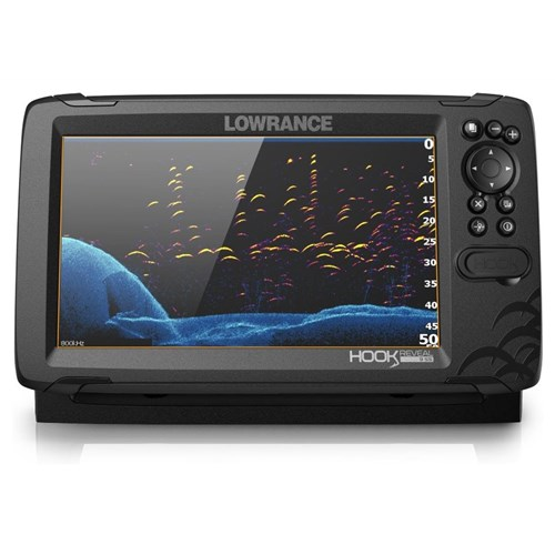 lowrance hook reveal 9 tripleshot with c map contour plus card